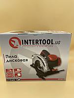 Пила дисковая Intertool DT-0613
