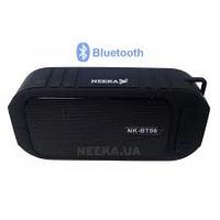 Портативная водонепроницаемая колонка c FM радио и Bluetooth NEEKA NK-BT06, фото 1