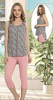 Костюм с бриджами домашний без рукава
