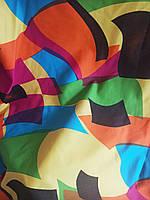 Ткань  Джинс  Принт, фото 1
