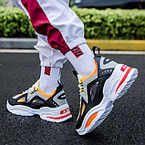 Кросівки чорно-жовті ABO, фото 3
