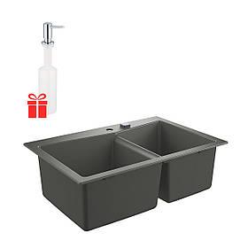 Набор Grohe мойка кухонная K700 31657AT0 + дозатор для моющего средства Contemporary 40536000