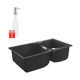 Набор Grohe мойка кухонная K700 31658AP0 + дозатор для моющего средства Contemporary 40536000