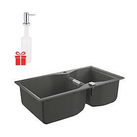 Набор Grohe мойка кухонная K700 31658AT0 + дозатор для моющего средства Contemporary 40536000