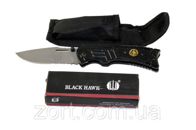 Нож складной механический Black Hawk, фото 2
