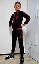 Черный спортивный костюм Polo для мальчиков и подростков