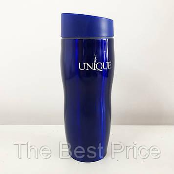 Термокружка UNIQUE UN-1071 0.38 л. Колір синій
