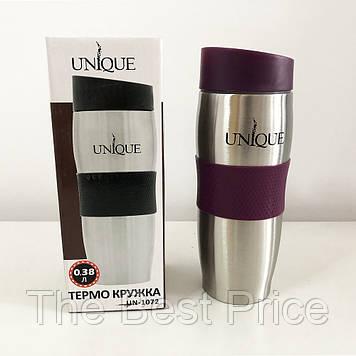 Термокружка UNIQUE UN-1072 0.38 л. Колір фіолетовий