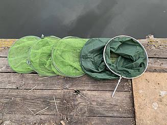 Садок   капроновая сетка 1.8 м диаметр 40 см