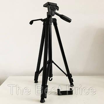 Штатив для камери, телефону, трипод, тринога TriPod 380A 0.50-1.35м