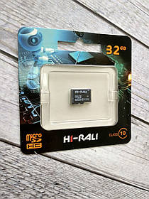 Micro SD 32Gb Hi-Rali Class 10 без ад.