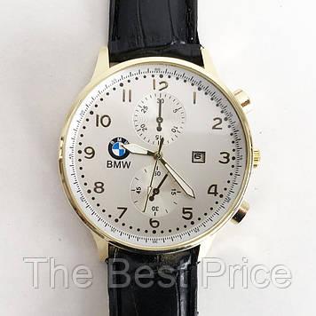 Годинники наручні BMW White ремінець чорний (репліка)