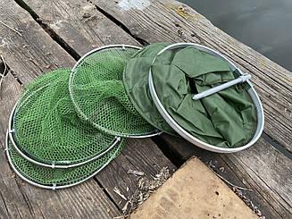 Садок рыболовный weida 1.6 м , d=0.25 м,  латексное покрытие сетки ,добротный садок для хорошего