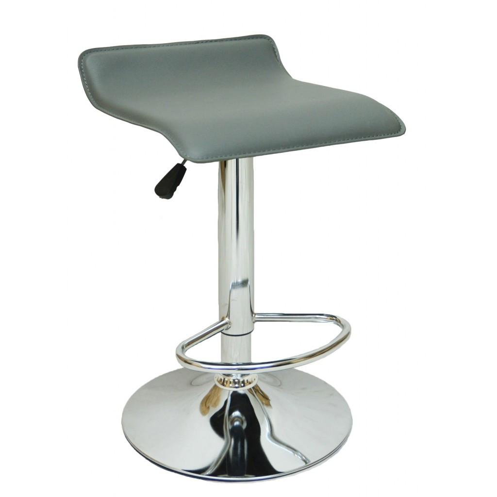 Барний стілець Bonro B-688 сірий