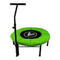 Батут для фітнесу з ручкою Atleto 102 см зелений