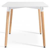 Стіл обідній Bonro В-950-800 Білий, фото 1