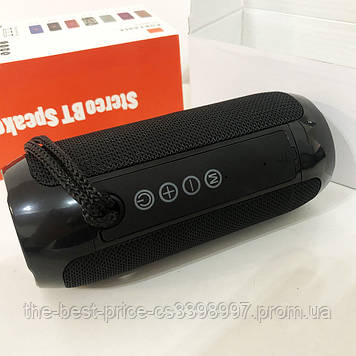 Bluetooth-колонка TG-117 портативна вологостійка. Колір чорний