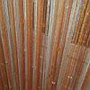Шторы  нити  дождь радуга белый оранж теракот с алмазными  бусинами