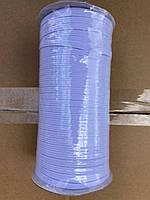 Бельевая белая резинка 3 мм