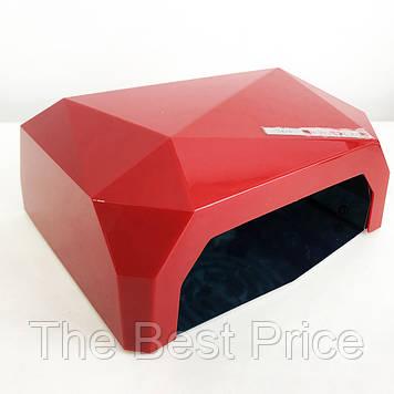 Сушарка для нігтів UV LAMP CCF LED. Колір червоний