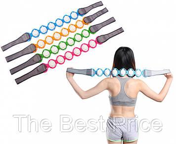 Роликовый массажер для всего тела Massage Rope (разные цвета)