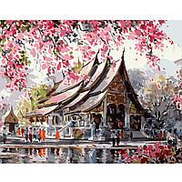 Картина по номерам Японская сакура, 40х50 см(VA-0872)
