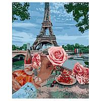 """Картина за номерами """"Романтика в Парижі""""(VA-2263)"""