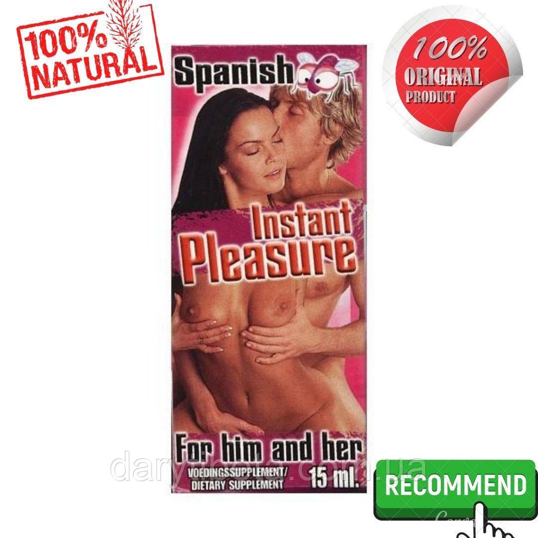 Збуджуючі краплі для двох SPANISH INSTANT PLEASURE (15 ml)