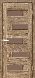 Двери межкомнатные ОмиС Рино 16 стекло бронза
