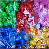 Шары для лототрона 50 шт. 40 мм Разъёмные. (Из 2 разных цветом половинок) На выбор: На выбор:красный, розовый, оранжевый, зеленый, белый, фиолетовый,