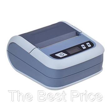 Мобільний акумуляторний термопринтер для друку етикеток Xprinter XP-P323BL Bluetooth