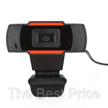 Веб камера з мікрофоном F37 720p Black (18220)