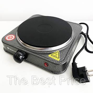 Електроплита настільна DOMOTEC MS-5821 (дискова на 1 конфорку / 1Д)