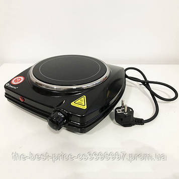 Електроплита настільна DOMOTEC MS-5851 (1Д, 900Вт, Кераміка)