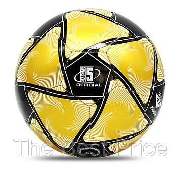 Футбольний м'яч Jymingde 5 розмір (Black|Yellow)