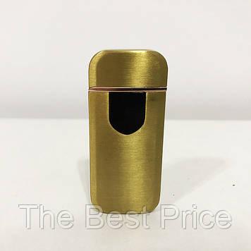 Запальничка електрична спіральна. Колір золотий сатин