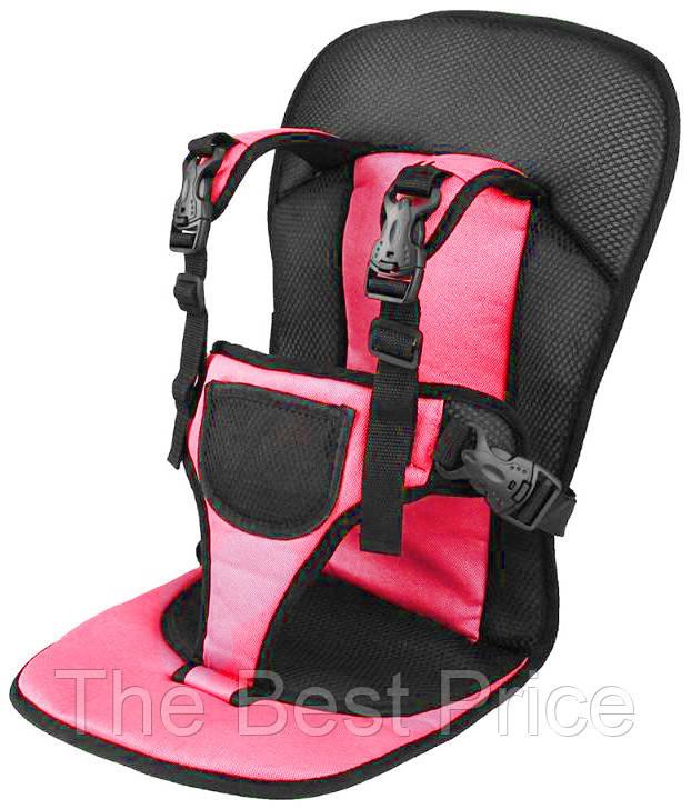 Детское бескаркасное автокресло VJT NY-26 Розовый