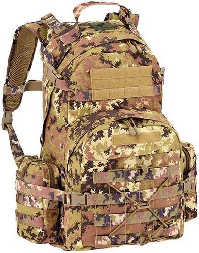 Военный продуманный мужской рюкзак 55 л. Defcon 5 Patrol 55, 922229 камуфляж