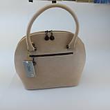 Класична жіноча сумка., фото 4