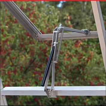 Автомат для проветривания окон и дверей, термопривод с 2-мя пружинами, до 14 кг.