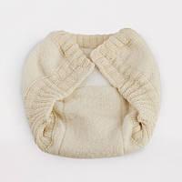 Штанишки для новорожденного из свалянной шерсти