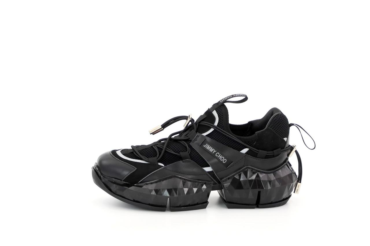 Женские кроссовки  Jimmy Choo. Черные. ТОП реплика ААА класса.