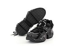 Женские кроссовки  Jimmy Choo. Черные. ТОП реплика ААА класса., фото 3