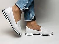 Evromoda. Жіночі літні туфлі-балетки з перфорацією білого кольору. Туреччина. Розмір 36.38.39.40.Vellena, фото 3