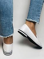 Evromoda. Жіночі літні туфлі-балетки з перфорацією білого кольору. Туреччина. Розмір 36.38.39.40.Vellena, фото 9