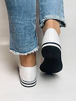 Evromoda. Жіночі літні туфлі-балетки з перфорацією білого кольору. Туреччина. Розмір 36.38.39.40.Vellena, фото 4