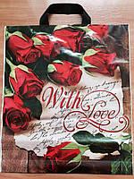 "Пакет ""Троянди"" 38*43 см"