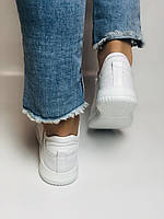 Evromoda. Женские белые кеды-кроссовки  из натуральной кожи. Размер 36,37,38,39,40, фото 6