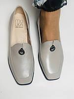Molka. Жіночі туфлі -лофери з натуральної шкіри. Розмір 35,36,37,38,39,40.Vellena, фото 3