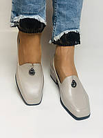 Molka. Жіночі туфлі -лофери з натуральної шкіри. Розмір 35,36,37,38,39,40.Vellena, фото 5